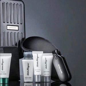 Eva Air amenity kits case Salvatore Ferragamo